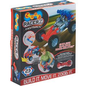 Конструктор ZOOB Racer-Z Fastback, 18 деталей