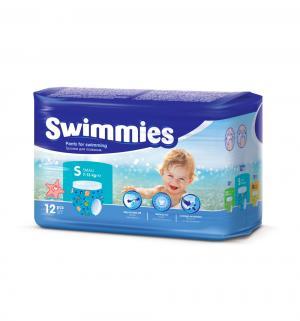 Подгузники-трусики  Swimmeies для плавания (7-13 кг) 12 шт. Swimmies