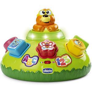 Интерактивная игрушка для малышей Chicco Крот. Цвет: зеленый