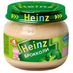 Пюре  брокколи с 4 месяцев, 80 г Heinz