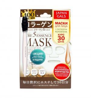 Маска  с коллагеном + подарок Pure5 Essence Japan Gals