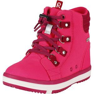 Ботинки tec Wetter Wash  для девочки Reima. Цвет: розовый