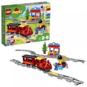 Конструктор  DUPLO 10874 Поезд на паровой тяге LEGO