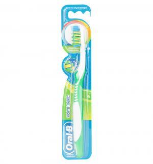 Зубная щетка  Комплекс средняя жесткость, цвет: салатовый Oral-B