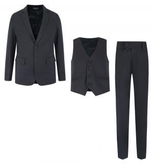 Костюм брюки/пиджак/жилет , цвет: серый Rodeng