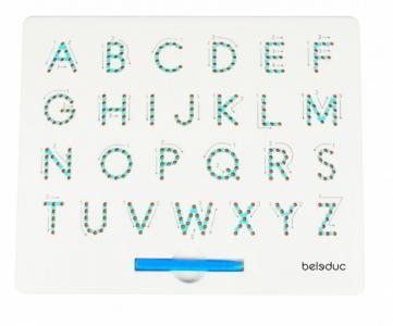 Магнитная панель Буквы А4 Beleduc