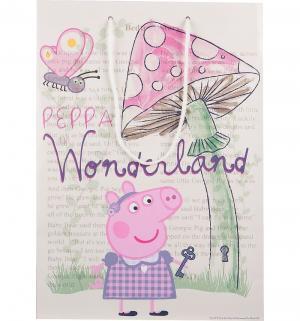 Подарочный пакет  Страна чудес Пеппы, 35 см Peppa Pig