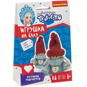 Набор для творчества  Ёлочные игрушки своими руками. Куклы Bondibon