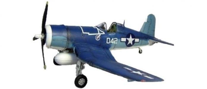 Сборная модель Палубный истребитель F-4U-1 Корсар 1:72 Моделист