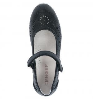 Туфли , цвет: черный Мифер