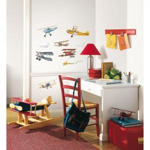 Наклейки для декора Самолеты, исторические модели RoomMates
