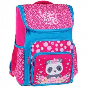 Ранец модернизированный Happy School Panda Спейс