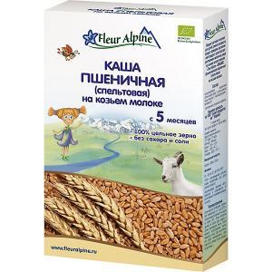 Каша  пшеничная (спельтовая) на козьем молоке, с 5 мес Fleur Alpine