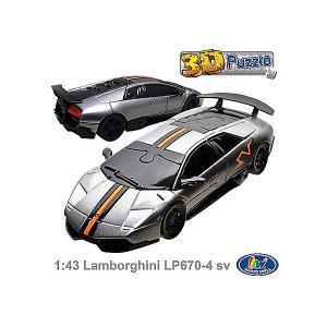 3D пазл  Ламборджини LP670 Happy Well