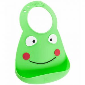 Нагрудник  Baby Bib Frog Make my day