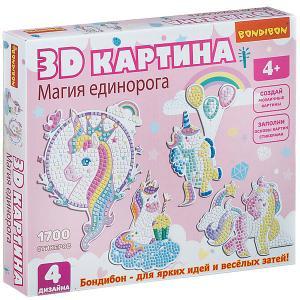 Набор для творчества  3D картина. Магия единорога Bondibon