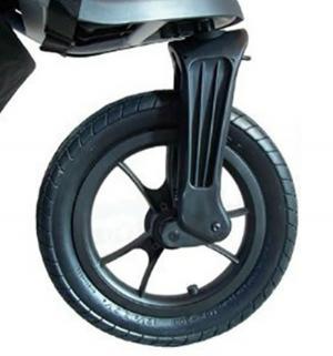 Переднее колесо  Wheel - Elite Front Assembly PU/rubber tire Baby Jogger