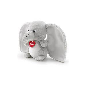 Мягкая игрушка  Слоник-ушастик в почтовом ящике Love boх Trudi. Цвет: серый
