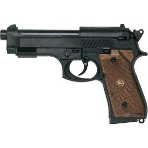 Пистолет  Parabellum, 19,3 см Edison. Цвет: черный