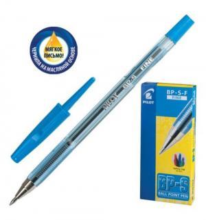 Ручка шариковая масляная  BP-S-F син Pilot