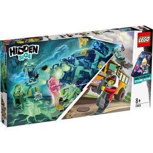 Конструктор  Hidden Side Автобус охотников за паранормальными явлениям, 689 деталей, арт 70423 LEGO. Цвет: разноцветный