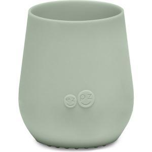 Силиконовая кружка  Tiny Cup оливковая Ezpz