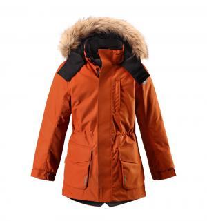 Куртка  Tec Naapuri, цвет: оранжевый Reima