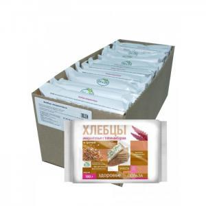 Хлебцы амарантовые с топинамбуром и гречей без глютена 100 г 12 шт. Di&Di