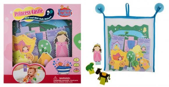 Стикеры для ванны Замок принцессы Barney&Buddy