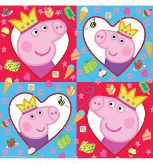 Набор салфеток  Пеппа-Принцесса 33 см Peppa Pig