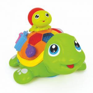 Игрушка музыкальная Весёлые черепашата (музыка, свет) Huile Toys