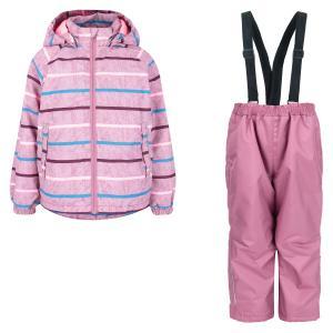 Комплект куртка/брюки  Kaiho, цвет: розовый Lassie