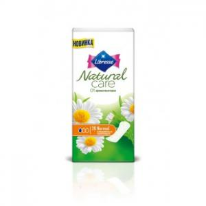 Прокладки ежедневные  Natural Care, 20 шт Libresse
