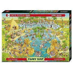 Пазлы  Нильский зоопарк, 1000 деталей HEYE