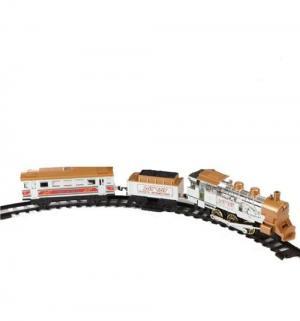 Железная дорога  с дымом светом и звуком 282 см JOY TOY
