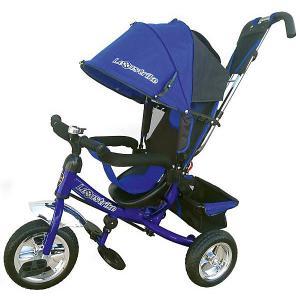 Трехколесный велосипед  Eva 10х8, синий Lexus Trike. Цвет: atlantikblau