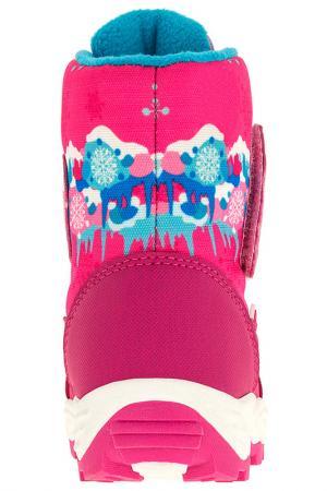 Ботинки Какаду Маша и медведь, цвет: фуксия Медведь