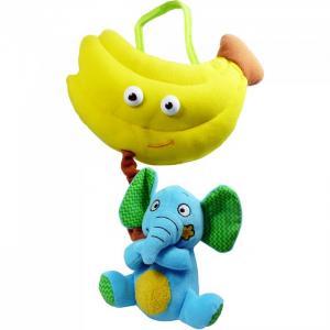 Развивающая игрушка  Слон и банан Biba Toys