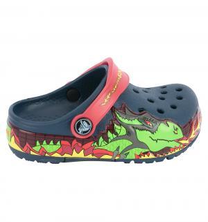 Шлепанцы  Classic Flip Navy, цвет: синий Crocs