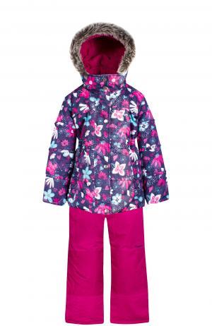 Комплект куртка/полукомбинезон , цвет: синий Zingaro By Gusti