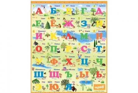 Игровой коврик  Русский Алфавит Mambobaby