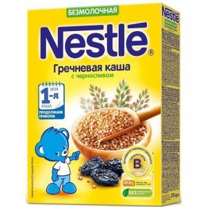 Каша  безмолочная гречневая с черносливом Моя 1-ая Каша.Продолжаем прикорм 4 месяцев 200 г Nestle