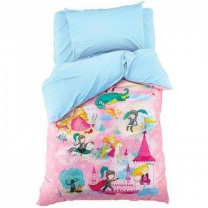 Постельное белье  1.5 спальное История милой принцессы (3 предмета) Этель