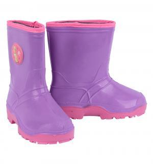 Резиновые сапоги , цвет: фиолетовый Дюна