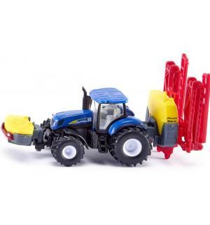 Трактор  New Holland с опрыскивателем 1 : 87, 19 см Siku