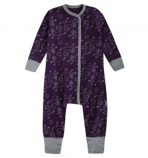Комбинезон  Обезьянка, цвет: фиолетовый Bambinizon