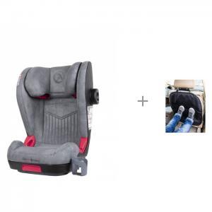 Автокресло  Zafiro Isofix и защита сиденья из ткани АвтоБра Coletto
