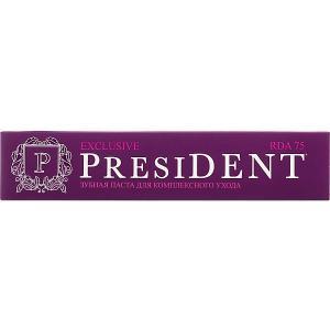 Зубная паста President Exclusive, 75 мл