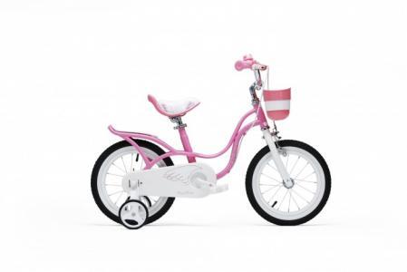 Велосипед двухколесный  Little Swan 16 Royal Baby