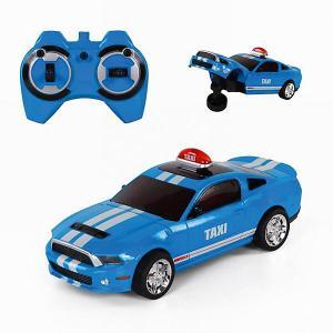 Радиоуправляемая машина  Toys Taxi, голубая Yako. Цвет: голубой